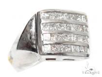 Invisible Diamond Ring 42738 Mens Diamond Rings