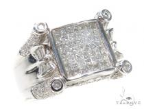 Prong Diamond Ring 42746 Mens Diamond Rings