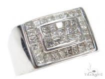 Invisible Diamond Ring 42750 Mens Diamond Rings