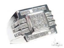 Invisible Diamond Ring 42752 Mens Diamond Rings