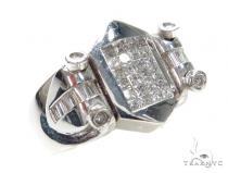 Invisible Diamond Ring 42754 Mens Diamond Rings