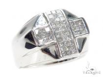 Invisible Diamond Ring 42753 Mens Diamond Rings