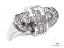 Invisible Diamond Ring 42745 Mens Diamond Rings