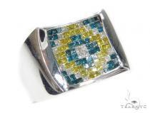 Invisible Diamond Ring 42755 Mens Diamond Rings