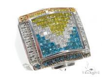 Prong Diamond Ring 42765 Mens Diamond Rings