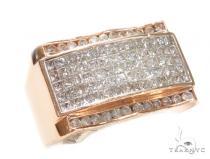 Channel Diamond Ring 42759 Mens Diamond Rings