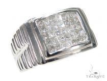Invisible Diamond Ring 42770 Mens Diamond Rings