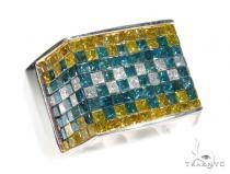 Invisible Colored Diamond Ring 42771