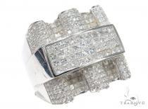 Prong Diamond Ring 42947 Mens Diamond Rings