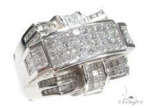 Invisible Diamond Ring 42950 Mens Diamond Rings