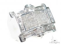 Invisible Diamond Ring 42952 Mens Diamond Rings