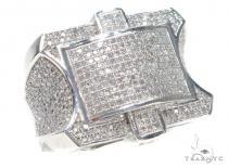 Prong Diamond Ring 42953 Mens Diamond Rings