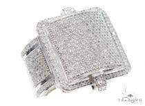 Prong Diamond Ring 42954 Mens Diamond Rings
