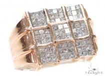 Invisible Diamond Ring 42956 Mens Diamond Rings