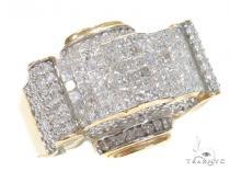Invisible Diamond Ring 42957 Mens Diamond Rings