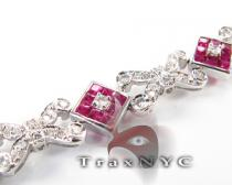 Ruby Tetra Bracelet Diamond & Gold Bracelets