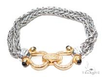 Silver Bracelet 42997 ステアリングシルバーブレスレット