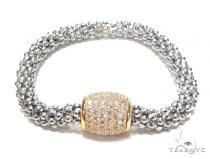 Silver Bracelet 42999 Silver & Stainless Steel