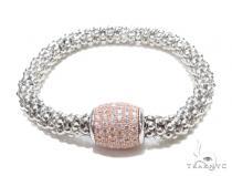 Silver Bracelet 43001 ステアリングシルバーブレスレット
