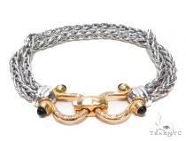 Silver Bracelet 43027 ステアリングシルバーブレスレット