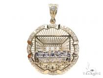 Last Supper Medallion Gold Pendant Gold Pendants