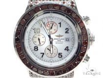 Breitling Super Avenger Fully Diamond Watch 42801 Breitling