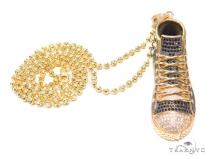Sneakers Silver Chain 43131 Silver