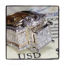 Ladies Nebula Ring 43298 Engagement