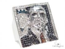 Prong Colored Diamond Ring 42987 マルチカラー ダイヤモンド リング