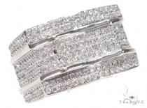 Prong Diamond Ring 42988 Mens Diamond Rings