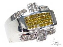 Invisible Diamond Ring 42989 Mens Diamond Rings