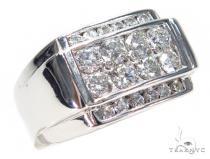 Channel Diamond Ring 42990 Stone