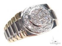 Prong Diamond Ring 43161 Mens Diamond Rings