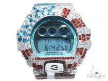 Silver Case Casio G-Shock Watch DW6900PL-7 43173 G-Shock Watches