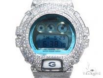 Silver Case Casio G-Shock Watch DW6900PL-7 43172 G-Shock