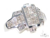 Invisible Diamond Ring 43637 Mens Diamond Rings