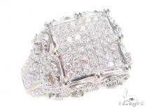 Prong Diamond Pinky Ring 43639 Pinky Rings