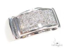 Invisible Diamond Ring 43654 Mens Diamond Rings