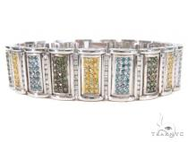 Prong Diamond Bracelet 43604 Mens Diamond Bracelets