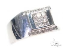 Invisible Diamond Ring 43662 Mens Diamond Rings