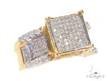 Square Head Diamond Ring 43675 Engagement
