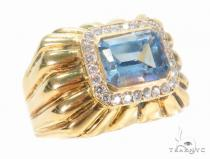 Prong Diamond Ring 43680 Mens Diamond Rings