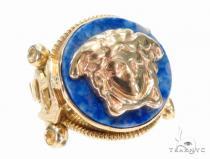Medusa Gold Ring 43682 Mens Gold Rings