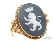 Gold Ring 43686 Mens Gold Rings