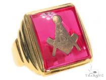 Gold Ring 43705 Mens Gold Rings
