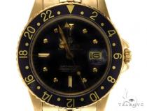 Rolex GMT-Master II Yellow Gold 43373 Diamond Rolex Watch Collection