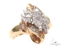Channel Diamond Engagement Ring 43570 Engagement