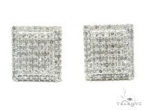 Prong Diamond Earrings 42567 Stone