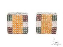 Prong Diamond Earrings 43937 Style