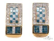 Prong Diamond Hoop Earrings 43988 Style